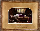 Henry Wallis The Death of Chatterton [reduction] painting